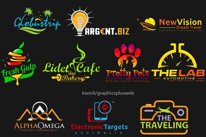Business logo design for your company 8 - kwork.com