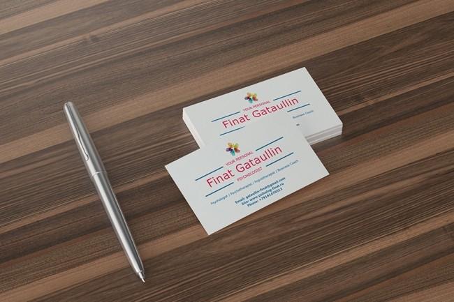 Design professional business card 1 - kwork.com