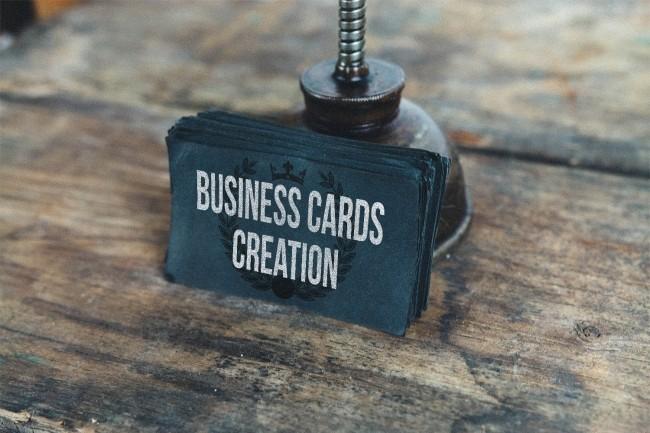 Business cards design creation 1 - kwork.com