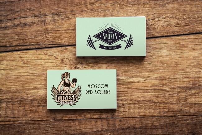 Business cards design creation 3 - kwork.com