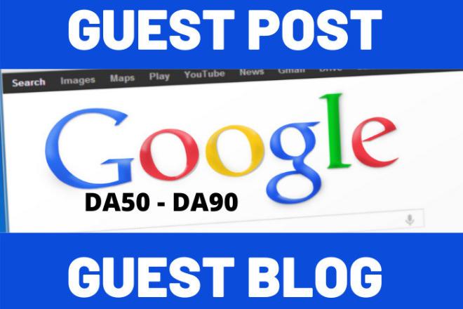 I will write and publish guest post average DA 50 DA 90 website 1 - kwork.com