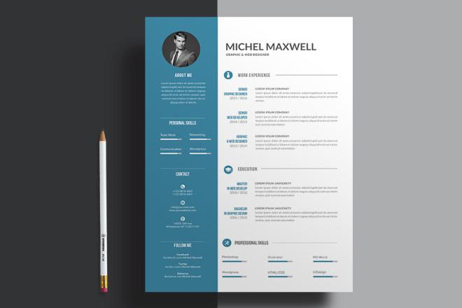 I will make an expert resume for you 1 - kwork.com