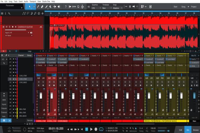 Mixing and mastering, audio editing, song producing 1 - kwork.com