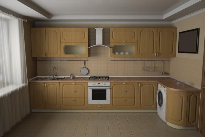 Visualization of interiors, furniture, subject visualization 4 - kwork.com