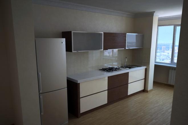 Visualization of interiors, furniture, subject visualization 11 - kwork.com