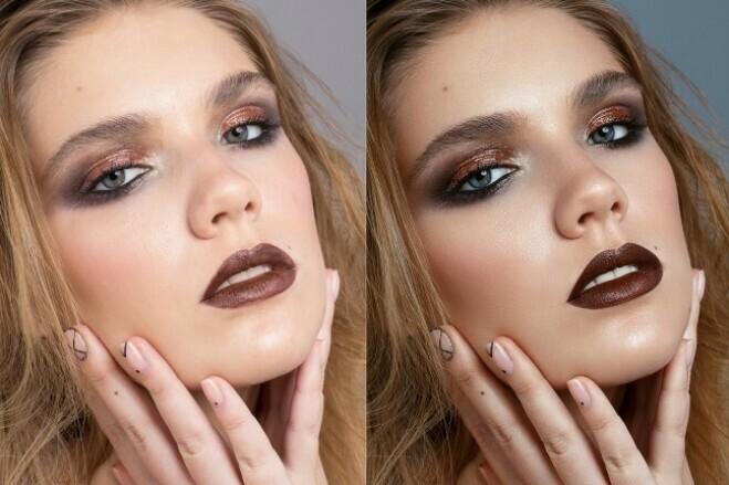 High-End beauty retouch 1 - kwork.com