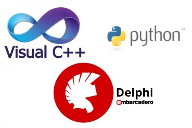 Delphi, C, C++, Python Applications for Windows 1 - kwork.com