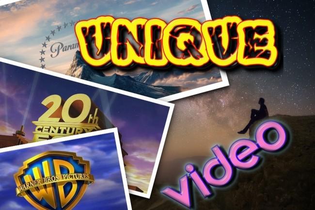 Create a unique video 1 - kwork.com