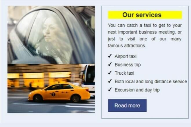 HTML email marketing - design, html code 3 - kwork.com