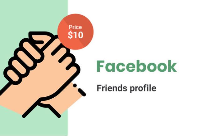 Facebook Friends Profile - 300 1 - kwork.com
