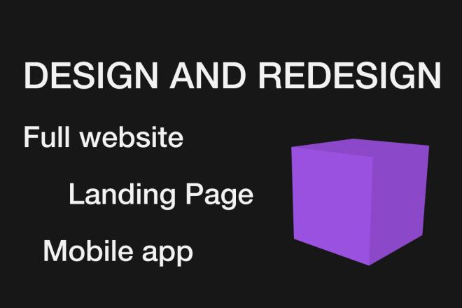 Create design and redesign 10 - kwork.com