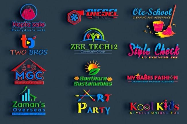 I will do 3 amazing logotype design concepts 2 - kwork.com