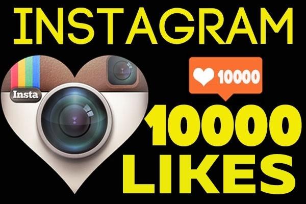 10000 likes instagram 1 - kwork.com