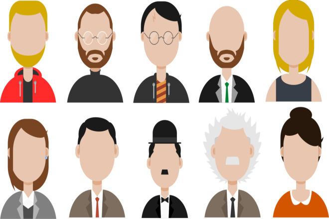 I will create a set of 10 icons 1 - kwork.com