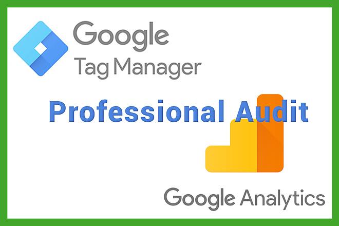 Professional Audit Google Analytics and Google Tag Manager 1 - kwork.com