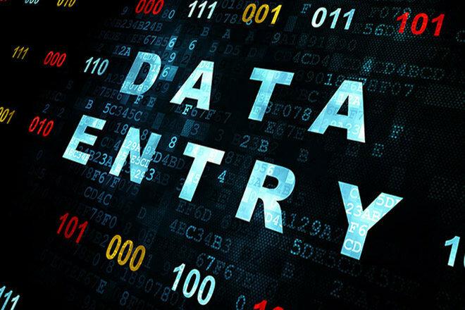 I Will do data entry job perfectly 1 - kwork.com