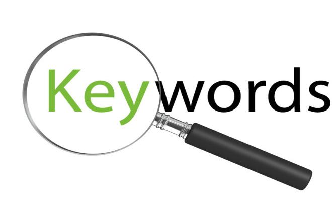 Keywords research 1 - kwork.com