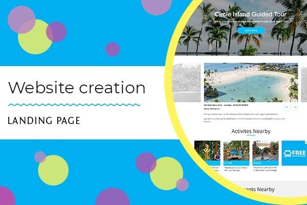 Landing page 6 - kwork.com