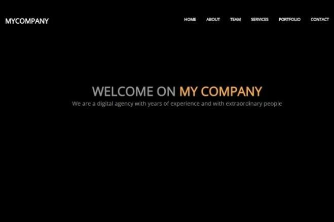 Design Site, Landing page 2 - kwork.com