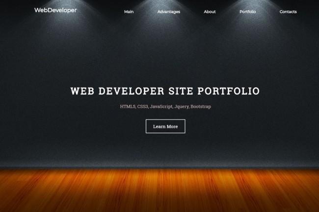 Design Site, Landing page 7 - kwork.com