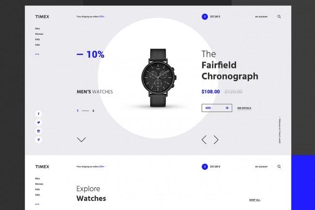 Design web-site 1 - kwork.com
