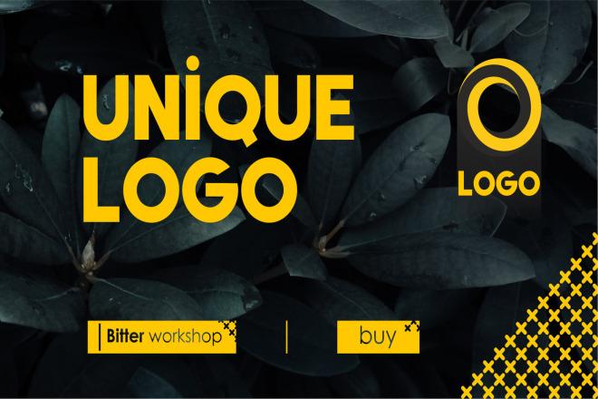Logo Unique design, bright and fresh solution 1 - kwork.com