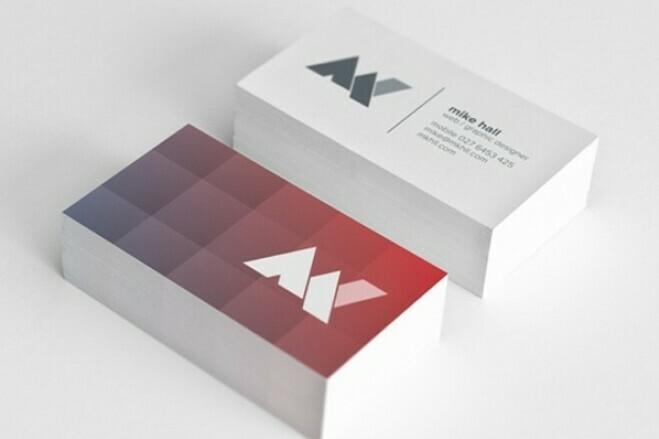 I'll make a business card design 1 - kwork.com