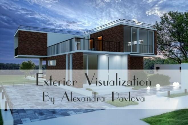 Exterior Visualization 3 - kwork.com