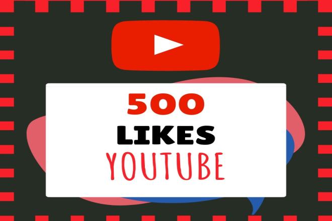 YouTube Likes - 500 1 - kwork.com