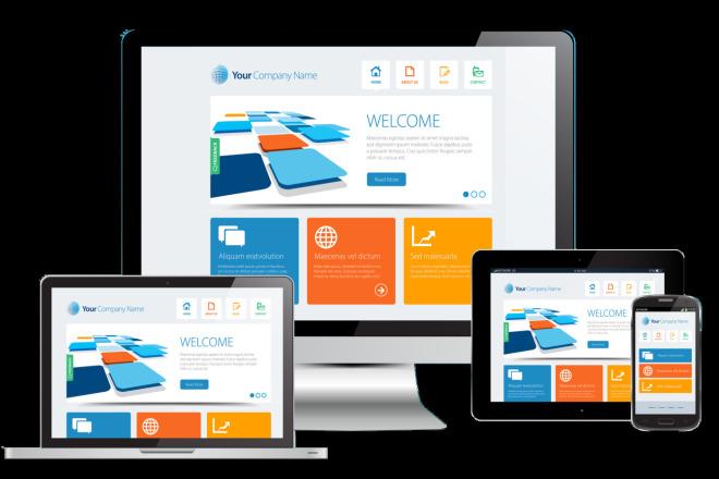 Designing WordPress based websites. Online store, Business, Portfolio 4 - kwork.com