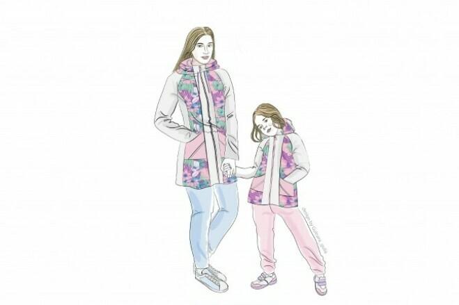 Fashion illustration 1 - kwork.com