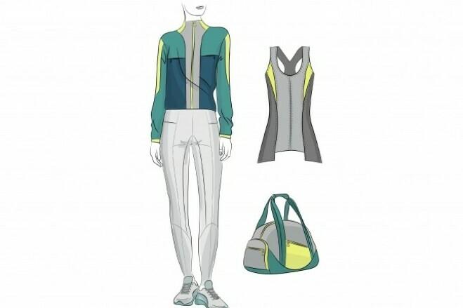 Fashion illustration 2 - kwork.com