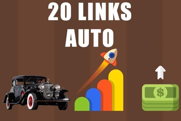 Links to 20 auto sites 1 - kwork.com