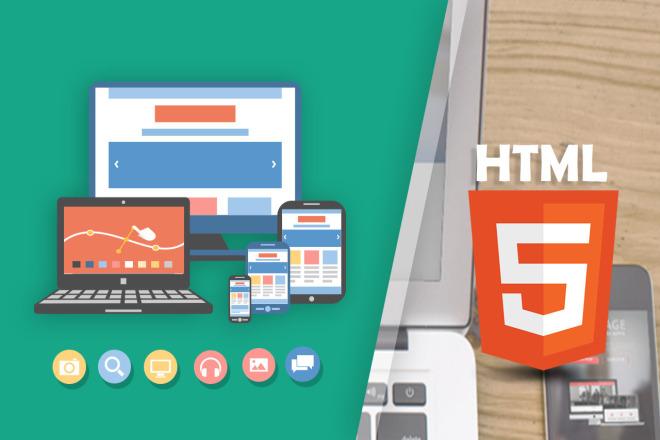 PSD to HTML, CSS, JS 4 - kwork.com