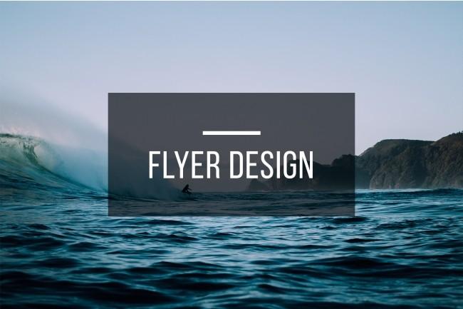 Flyer Design 9 - kwork.com