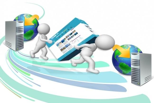I will transfer your site to a new hosting or server 1 - kwork.com