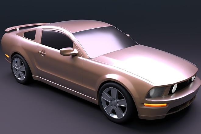 Modeling 3D object 1 - kwork.com