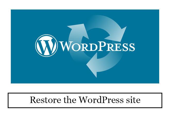 I will restore the WordPress site 1 - kwork.com