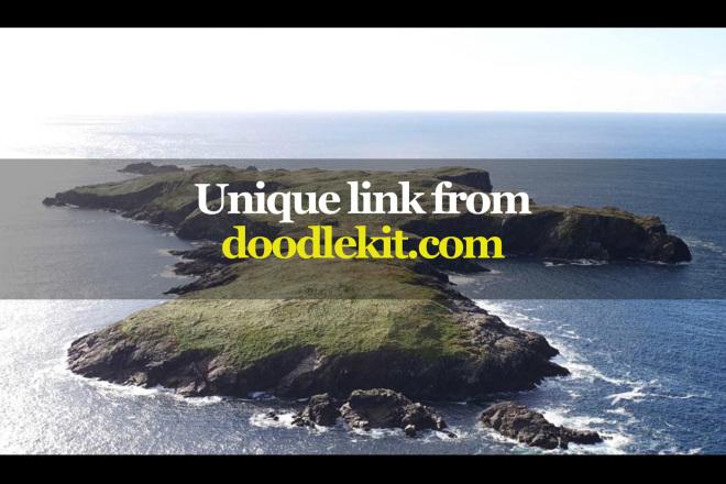 Unique link from doodlekit.com 1 - kwork.com