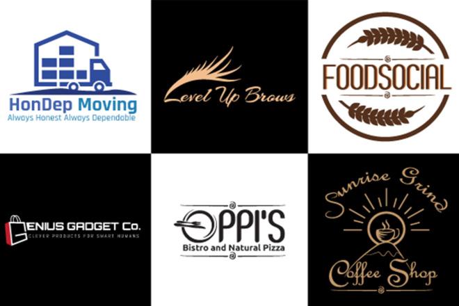 Design a professional outstanding modern logo 11 - kwork.com