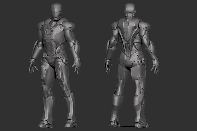 3D modeling for Gamedev, 3D printing or visualization 5 - kwork.com