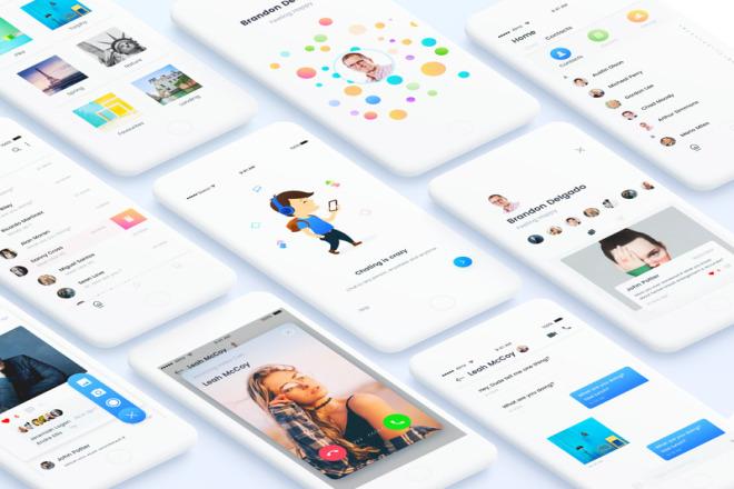 UI UX Design Mobile App 4 - kwork.com