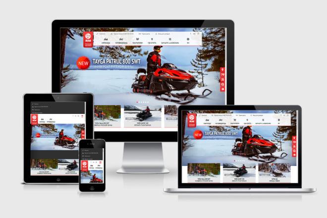 I will make layout on PSD layout, i will make edits, create adaptive 1 - kwork.com