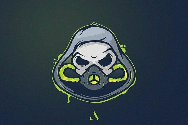 I will make a simple logo for your team 6 - kwork.com