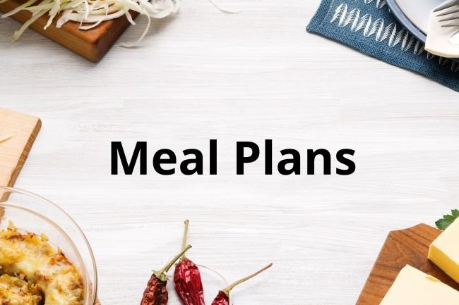 Draw up an individual meal plan 1 - kwork.com