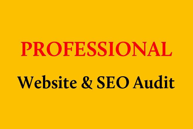Complete Professional Website and SEO Audit 1 - kwork.com