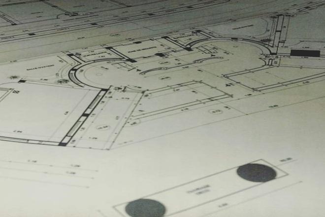 I will draw a construction floor plans 6 - kwork.com
