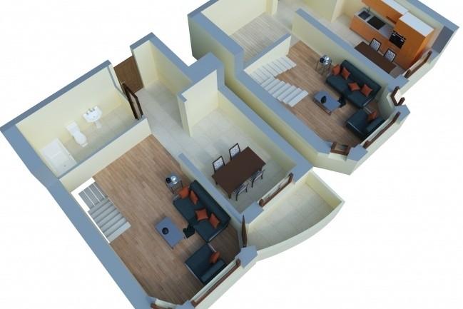 Visualization of an exterior 8 - kwork.com