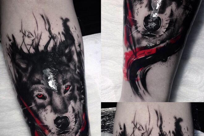 Original tattoo sketch 3 - kwork.com