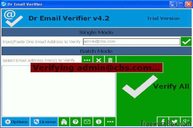 Validate your email address database 1 - kwork.com